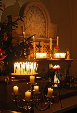 Alle Kerzen leuchten
