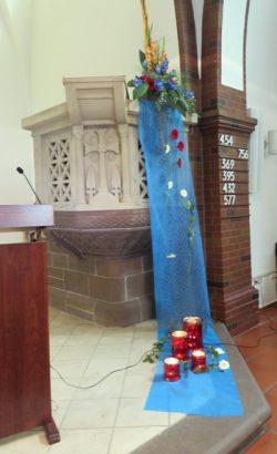 Der Altarschmuck
