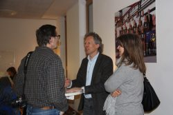 Pastor Gerhrad Jahnke im Gespräch mit Lutz Kastendiek ( Hamburger Abendblatt)