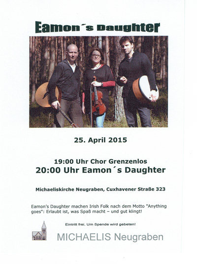 Konzert im April