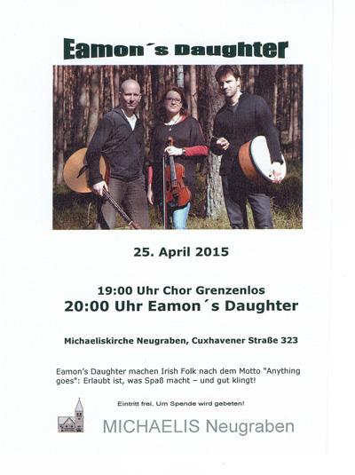 Konzert im April