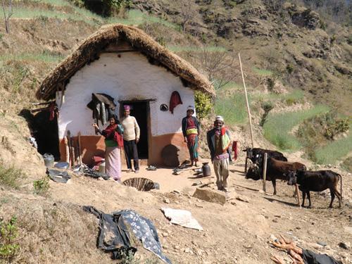 Bergbauernfamilien