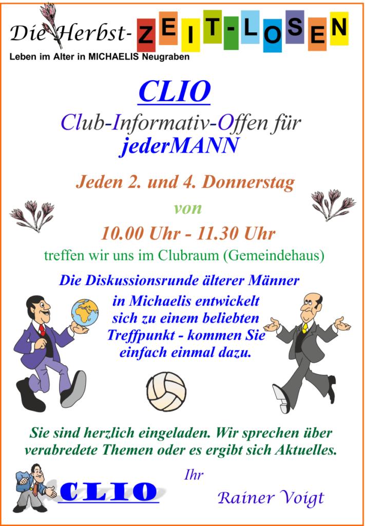 CLIO - Club-Informativ_Offen für JederMann